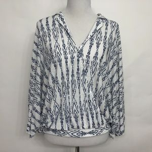 Anthropologie Postmark Surplice Top